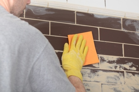 Re-grouting Kitchen Bathroom Handyman Service London